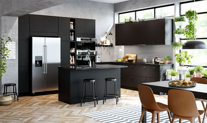 80 Black Kitchen Cabinets The Most Creative Designs Ideas