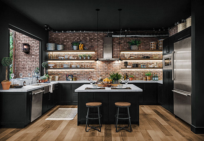80 Black Kitchen Cabinets The Most