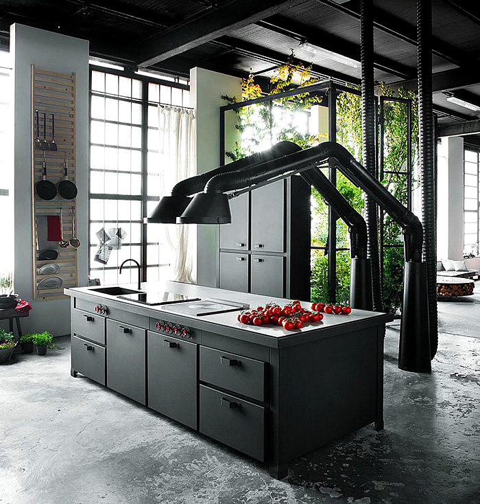 Metal Black Kitchen Cabinets: The Most Creative Designs