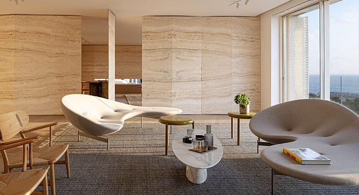 Luxury Israeli Penthouse by Pitsou Kedem and Baranowitz & Goldberg
