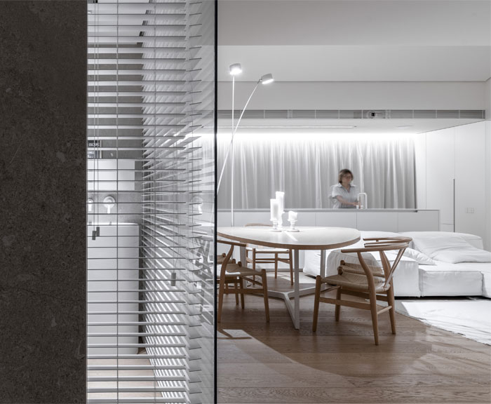 linearchitects apartment monochrome living divani products 22
