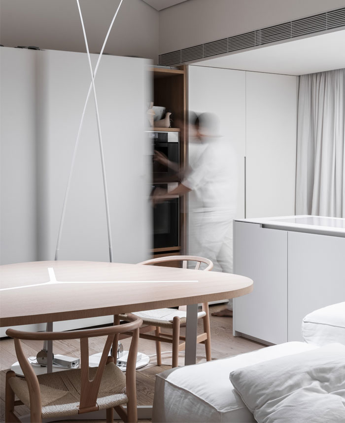 linearchitects apartment monochrome living divani products 24