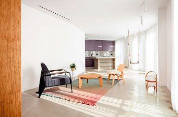 Apartment in Barcelona by Raul Sanchez Architects