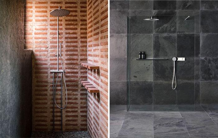 stylish examples natural materials bathroom 8