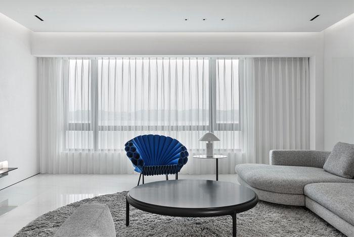 ad architecture minimal apartment interior china 16