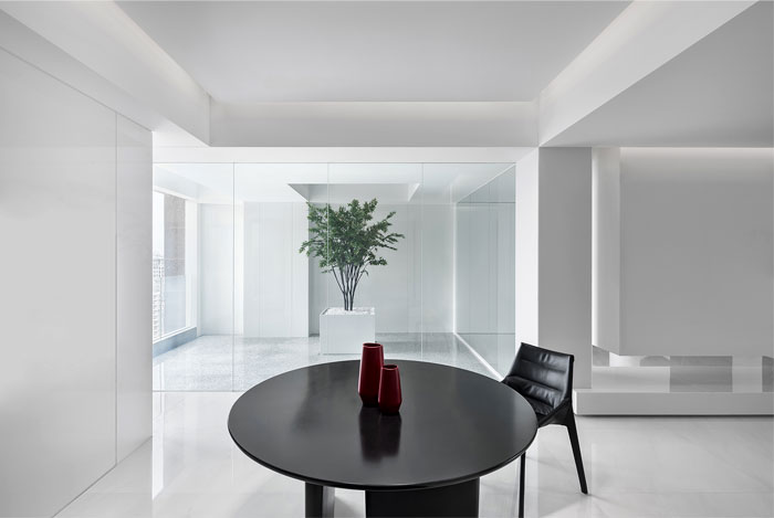 ad architecture minimal apartment interior china 3