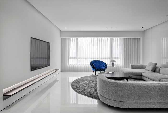 ad architecture minimal apartment interior china 6