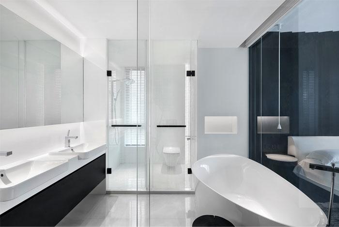 ad architecture minimal apartment interior china 7