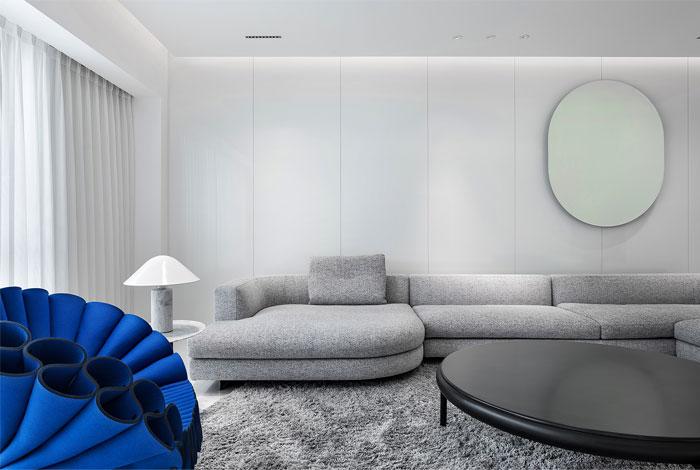 ad architecture minimal apartment interior china 9