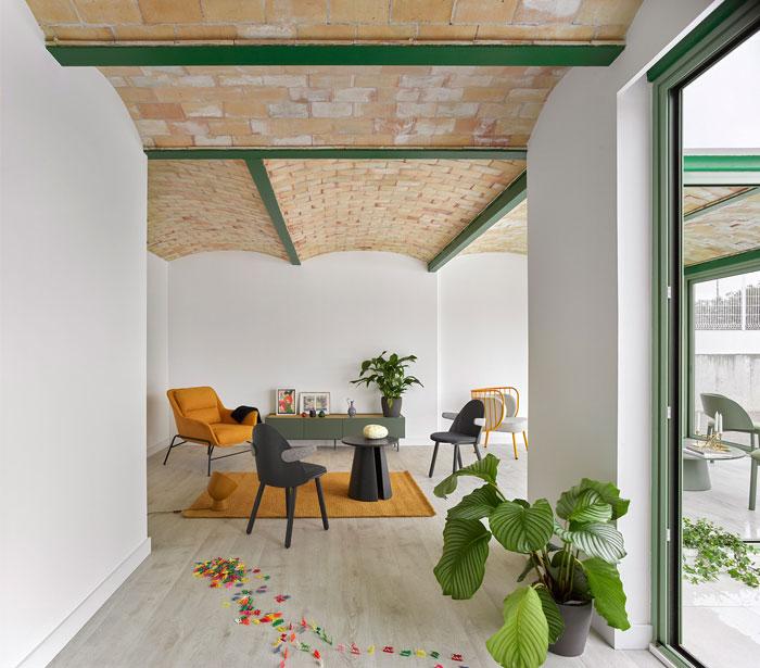 brick vault house space popular 4