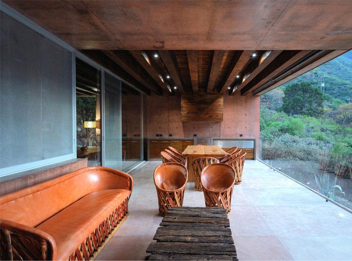built in outdoor kitchen p plus 0 arquitectura