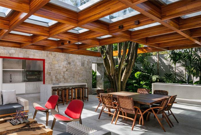 built in outdoor kitchen perkins will