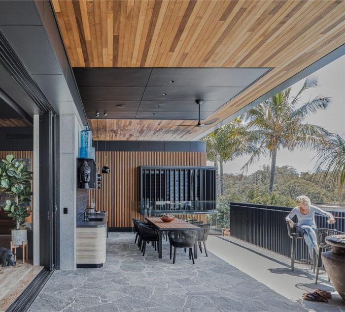 cove house kitchen extension garden 1