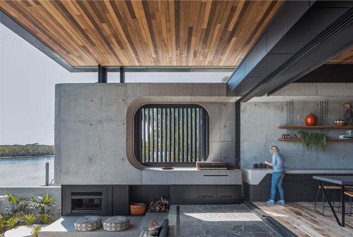cove house kitchen extension garden 2