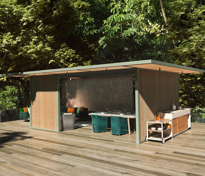 kettal outdoor kitchen 3