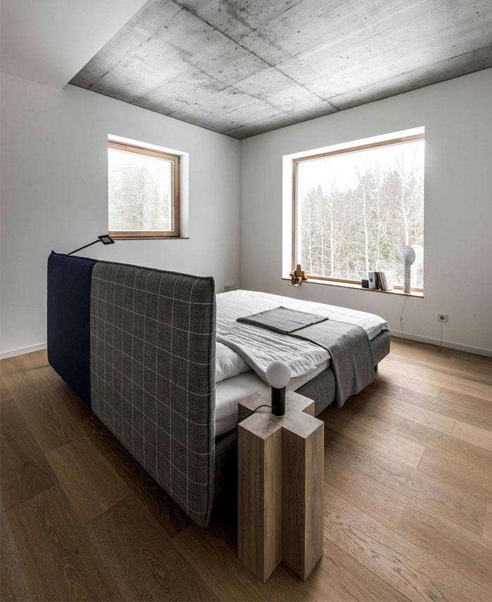 minimalist monochrome bedroom decor project studio toota