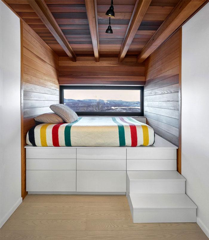 modern minimalist bedroom platform storage bed 7