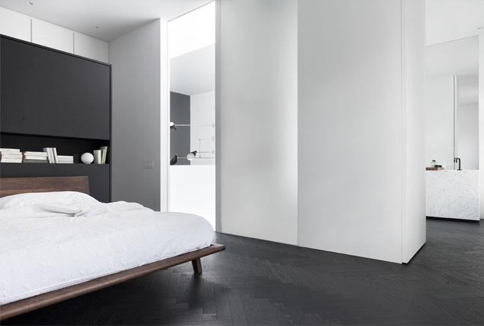 monochrome bedroom decor 3