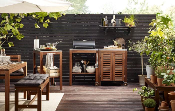outdoor kitchen Ikea