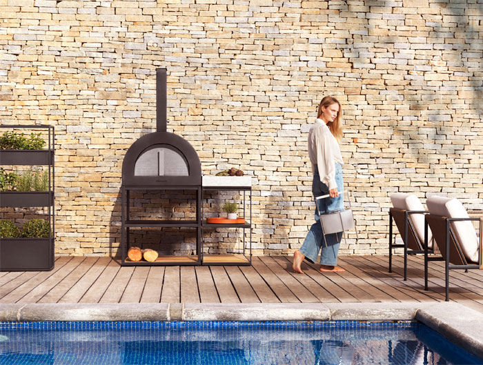 roshults bbq wood oven