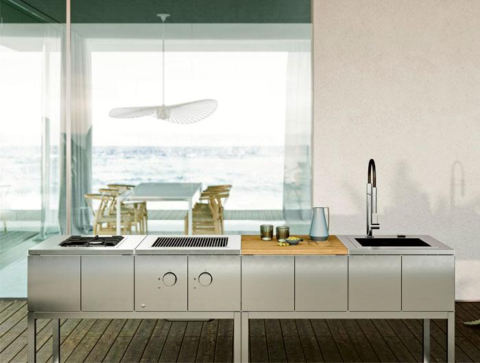 stainless steel outdoor kitchen 6