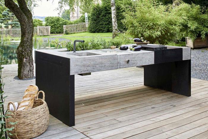 stone outdoor kitchen design 3