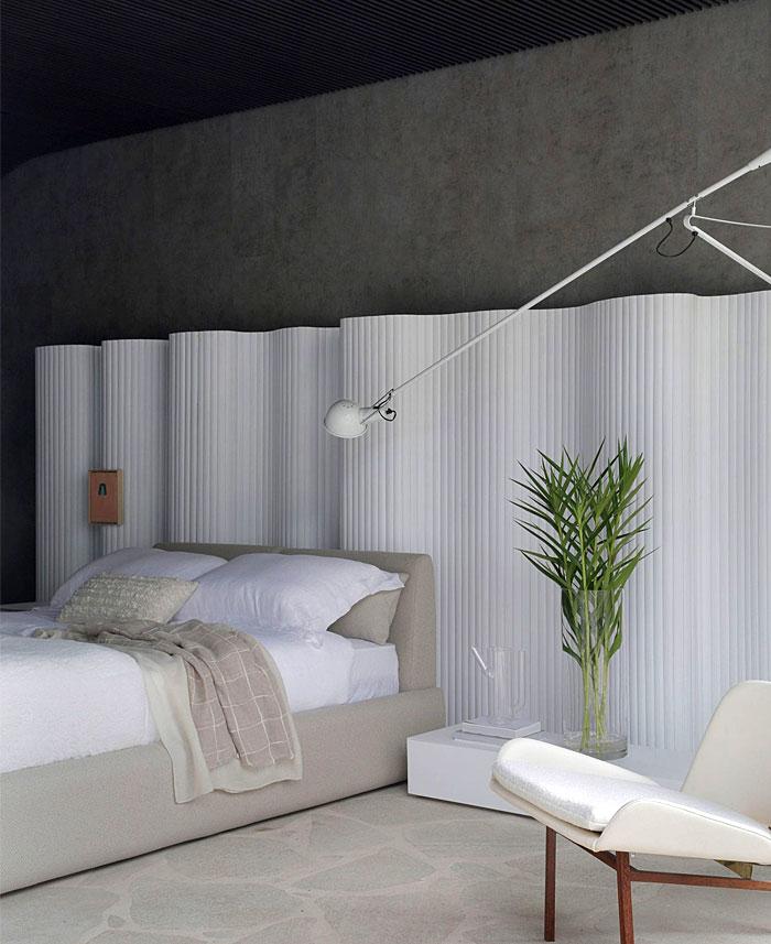 stylish monochrome minimalist bedroom 2