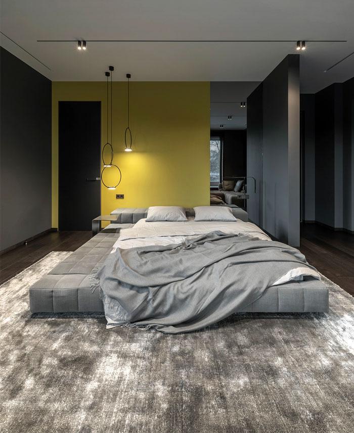 colorful modern minimalist bedroom decor 2
