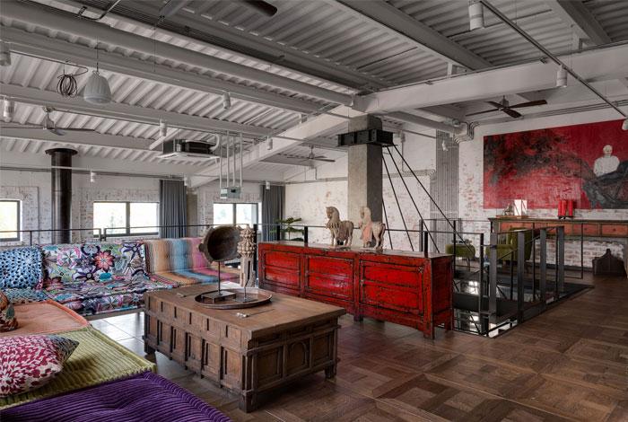hayloft space loft buro 1