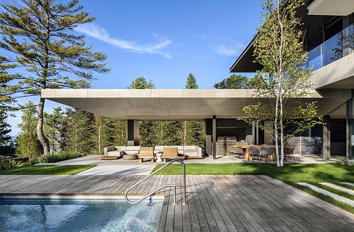 Lake Huron House by SAOTA