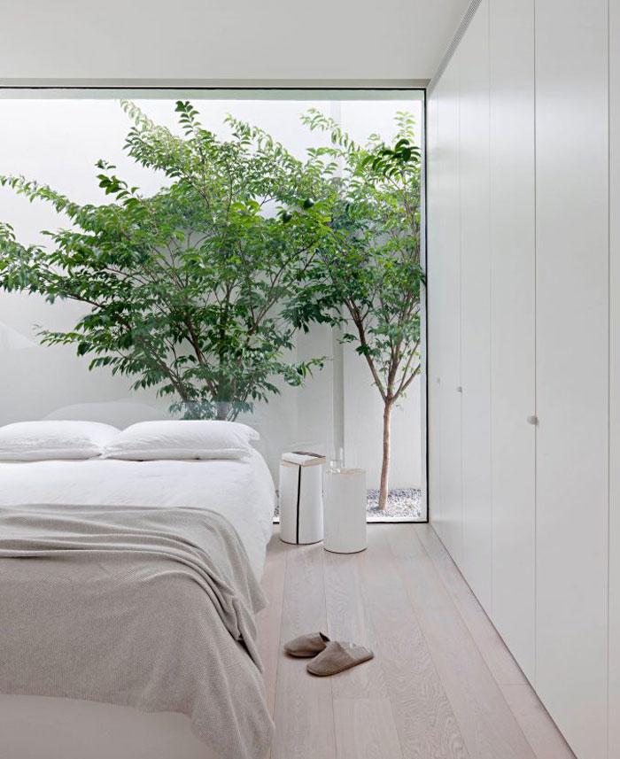 monochrome bedroom decor 17