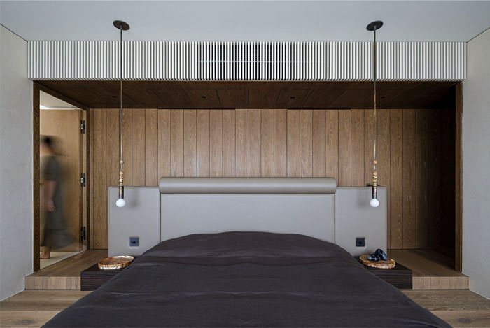 organic materials minimalist bedroom 5