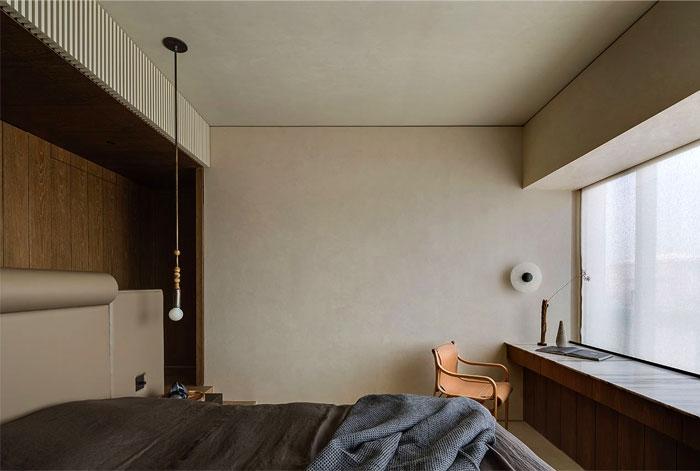 organic materials minimalist bedroom 6