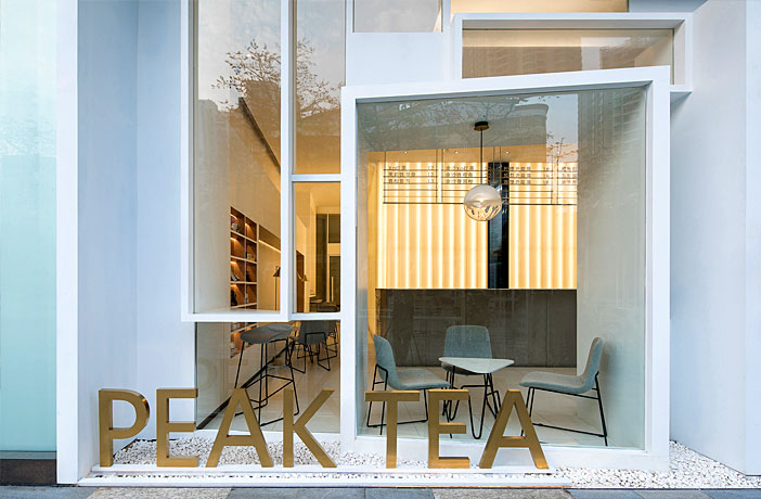 Integrated Landscaping: Peak Tea by Onexn Architects
