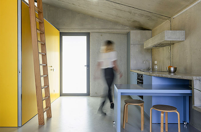 Housing and Multi-Services Spaces by Summary Architects