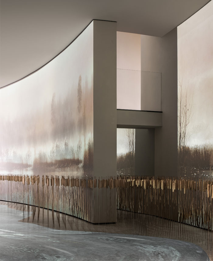 view lake sales center by one cu interior design lab 15