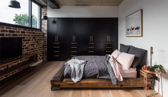 vivid bohemian style minimalist bedroom 1