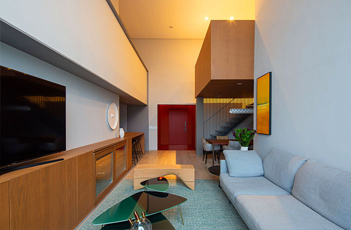 Loft Apartment in Sao Paulo by FCstudio
