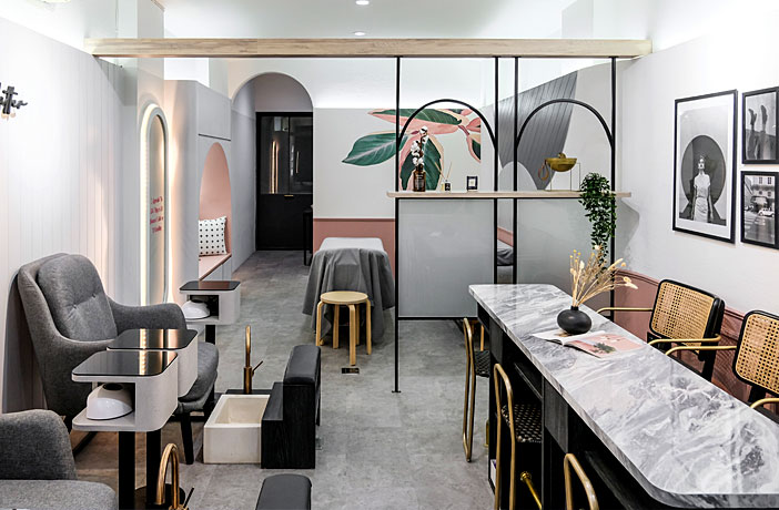 Co+in Collaborative Lab: To Rethink the Concept of a Traditional Beauty Salon