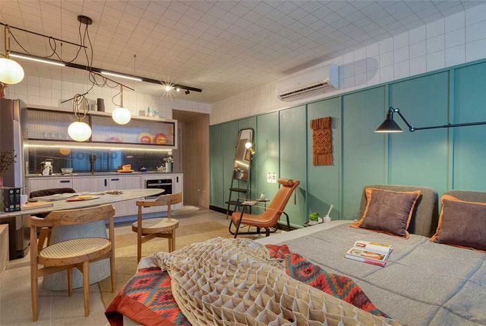 small studio apartment rio 3