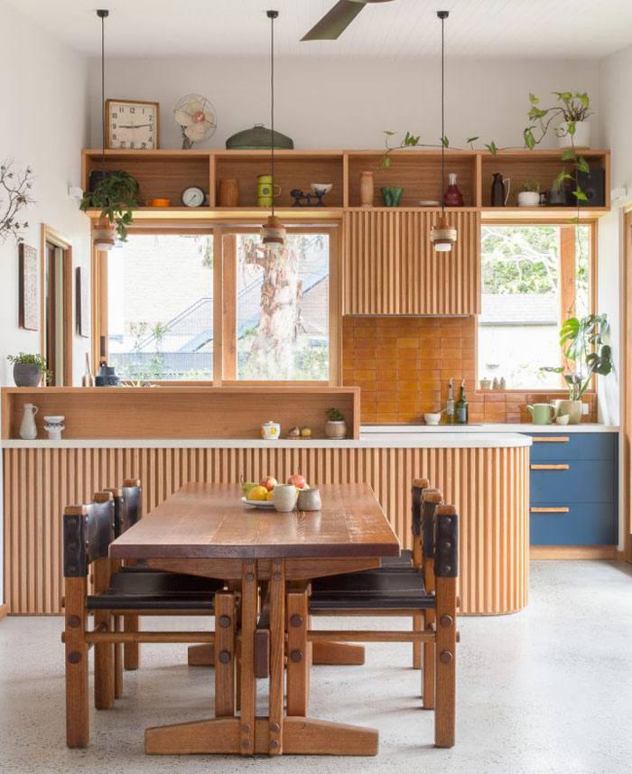 mid century modern kitchen 1