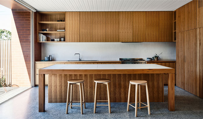 mid century modern kitchen 4