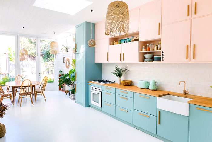 midcentury modern kitchen cabinets colour 2