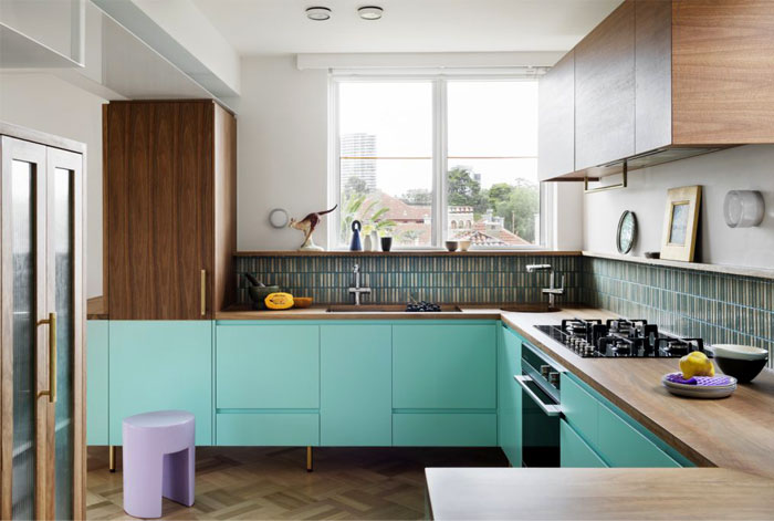 midcentury modern kitchen cabinets colour 4