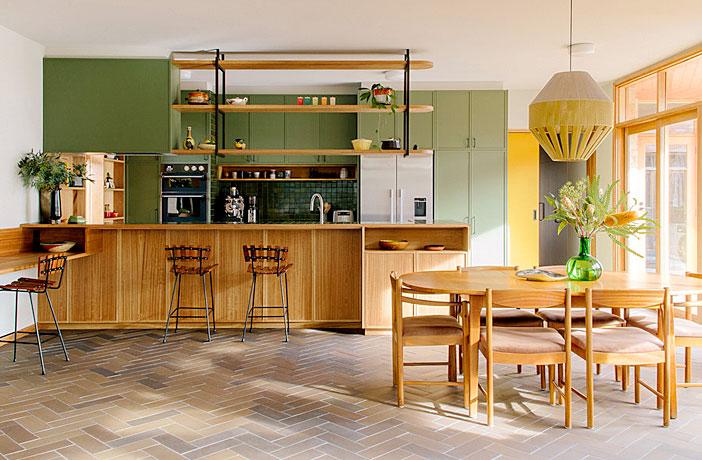 65 Adorable Mid Century Modern Kitchen Ideas Interiorzine
