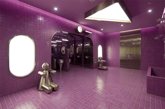 public restroom inspired black holes gravity 20