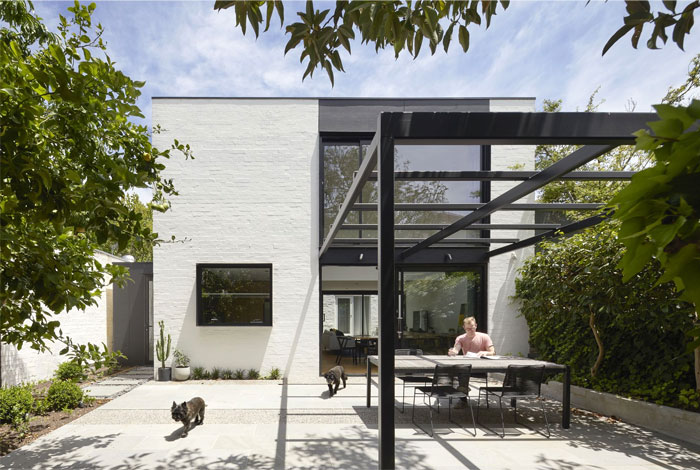 south yarra void house 1
