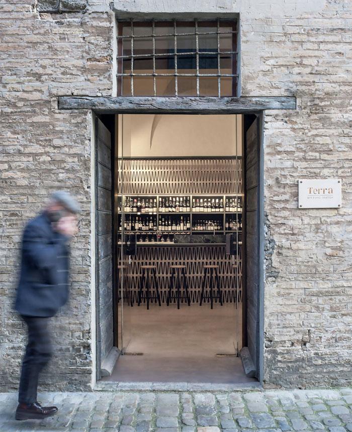 winery terra enoteca 16th century italian palazzo 5