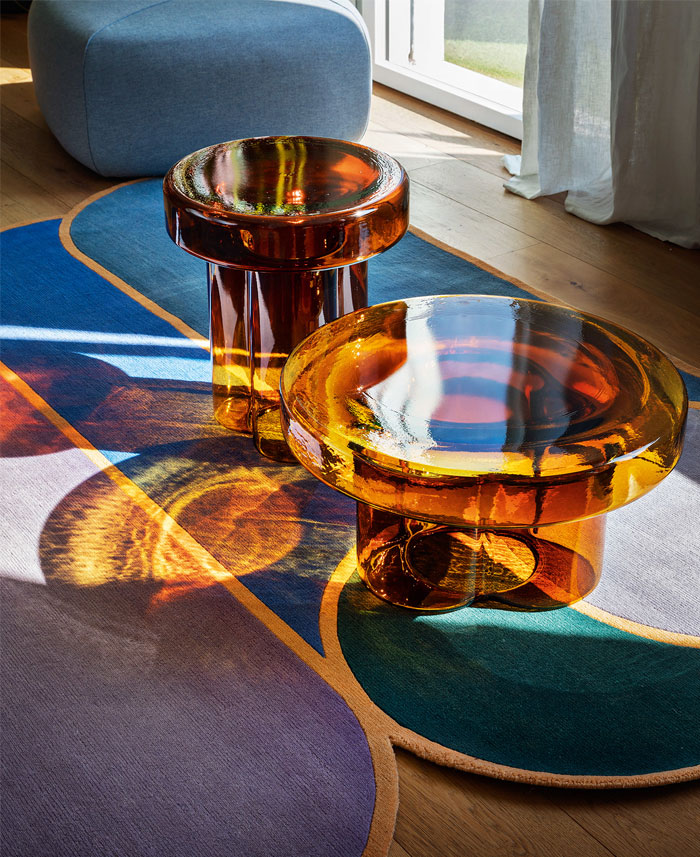 blown glass coffee tables soda collection 4