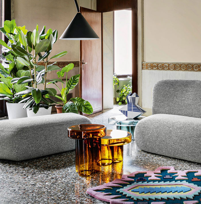 blown glass coffee tables soda collection 5